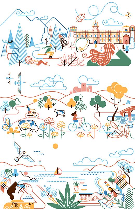 Paradores de Turismo – 2021 Calendar