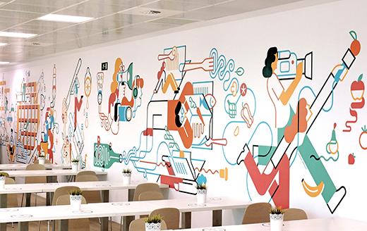 Vocento mural